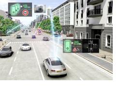 Dynamic e-Horizon, un nuevo desarrollo de Continental que conecta a unos coches con otros