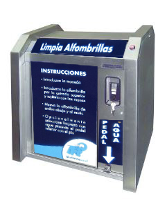 lavatappeti economica mod. LT400 ECO