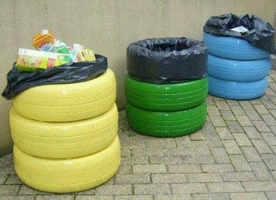 Una segunda vida para los neumáticos de tu vehículo