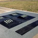 Nuevo sistema de badén que ilumina las farolas