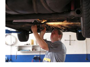 Reparación vehículo, coches