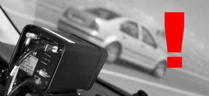Motivos de multas al conducir en coche