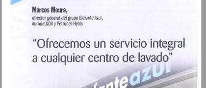 Entrevista a Marcos Moure en Estaciones de Servicio