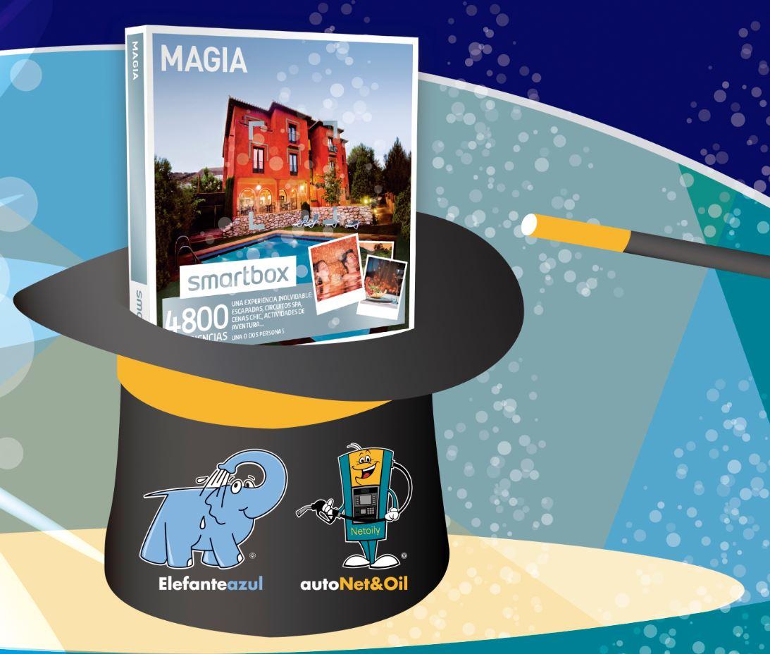 Sorteo Pack Magia de Smartbox