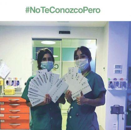#NoTeConozcoPeroAquiEstoy